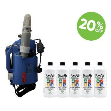 PowAir Super Sprayer Bundle Odour Neutraliser