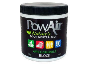 powair block apple crumble
