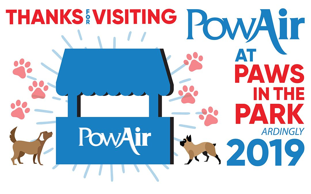 Thanks for visiting PowAir at Paws in the Park 2019!